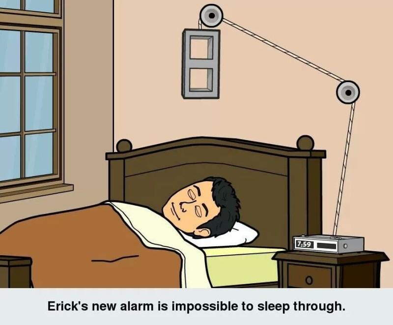 Erick's New Alarm