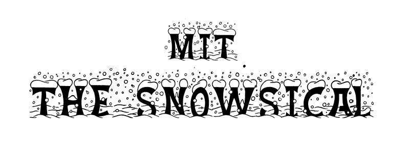 MIT The Snowsical