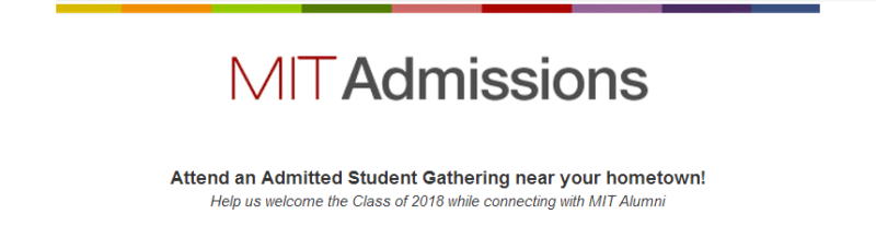 MIT Admitted Student Gathering 2014